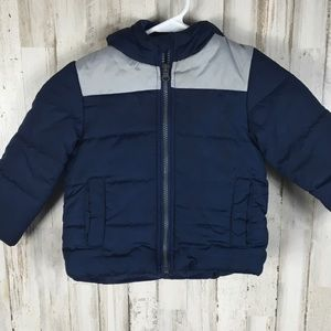 Carter's 2T Insulated Winter Puffer Jacket Coat 2